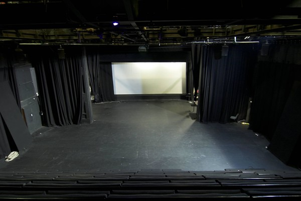 View of the stage in Traverse 1